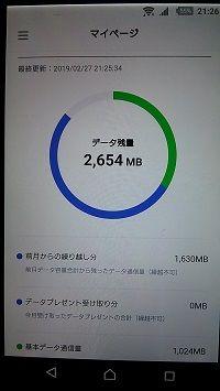 ラインモバイル月額500円 (2)
