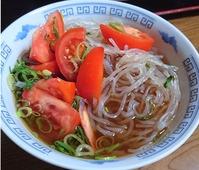 しらたきエスニック風スープ麺
