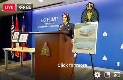 【速報】 ネコ耳フィルター事件がカナダでも発生!警察署の殺人事件に関する記者会見で…