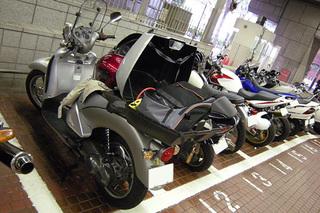 都庁オートバイ専用駐車場