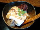 豆腐クリームパフェ