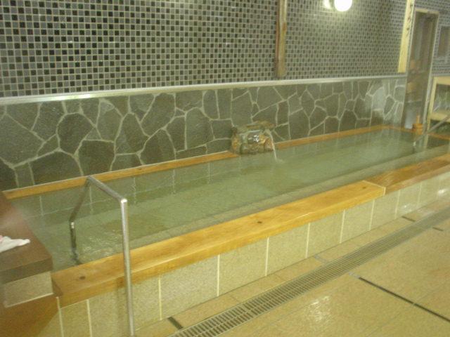 長い水風呂