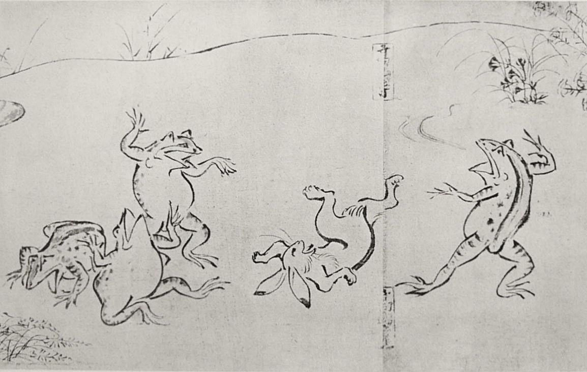 国宝でお絵描き オリジナルな 鳥獣戯画 を作ることができる 鳥獣戯画制作キット を試してみた もふもふちゃんねる