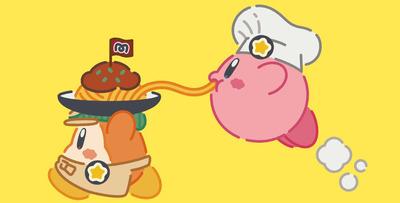 回復アイテムのマキシムトマトをたーっぷり使ったメニューや、カービィの顔を描いた可愛いパンケーキなど、任天堂の人気ゲーム「星のカービィ」をモチーフに