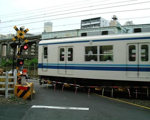 東武・亀戸線・踏切・亀戸付近・1