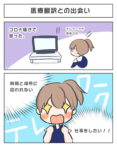 医療翻訳に挑戦!