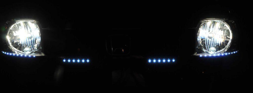 ヘッドライトとスモールとデイライト_R