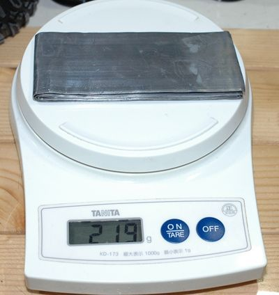 2 鉛 重量219g_R
