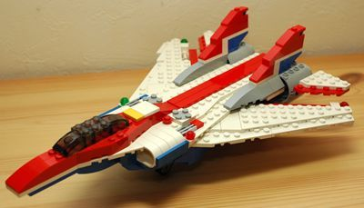 LEGO 可変後退翼機 前_R