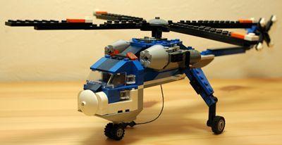 LEGO 大型ヘリコプター 前_R