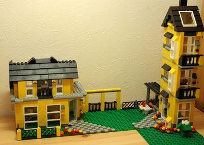LEGO 黄色い家_R