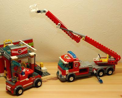 LEGO 消防車_R