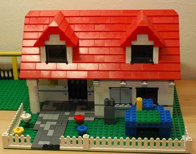 LEGO 赤い家2_R