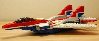 LEGO 可変後退翼機 脚収納_R