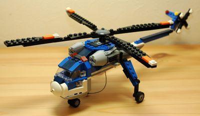LEGO 大型ヘリコプター_R