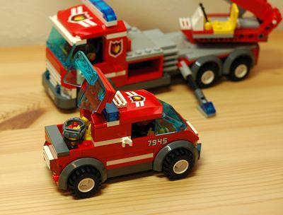 LEGO 消防車 小型_R
