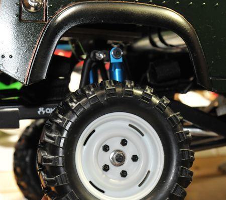12 ディフェンダー車高落とし タイヤ変更_R