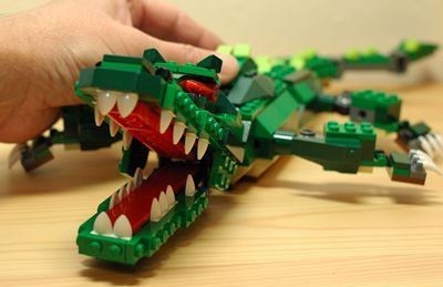 LEGO ワニ口あーん_R