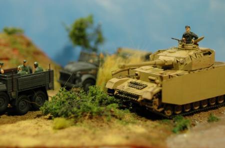4号戦車ジオラマ
