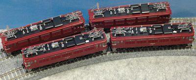 3 KATO TOMIX ED75_R