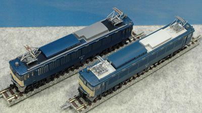 新旧 EF62 tomixとKATO_R