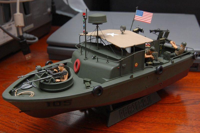 タミヤ 1/35 米海軍河川哨戒艇 PBR31Mk.Ⅱ : とあるカメコの雑記帳