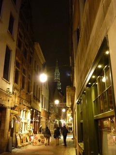 ブリュッセル街並