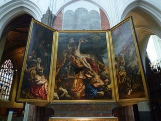 ルーベンス「キリストの昇架」