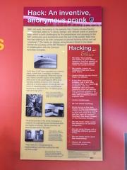 MIT Hackを語る学内の掲示