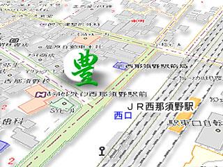 駅前豊地図