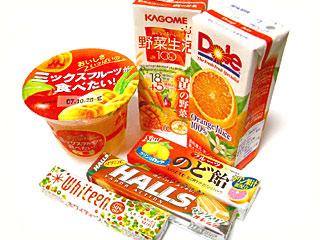 オレンジ色の商品