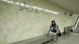 サン・ベント駅に到着