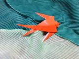 ツバメ折り紙
