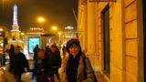 夜のロッシオ広場