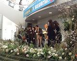 お花いっぱいのステージ