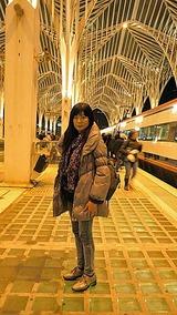 リスボン一個手前の駅に到着