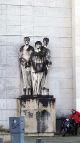 コインブラ大学の像