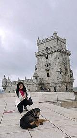 ワンコ&もこ&ベレンの塔