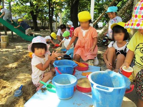 砂遊び-(1)