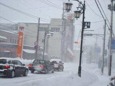吹雪の町2