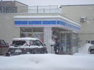 吹雪の町1