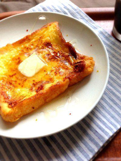 フレンチトースト_レシピ