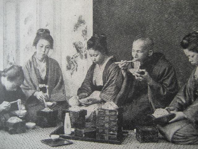 1895年 アメリカの雑誌より 日本...