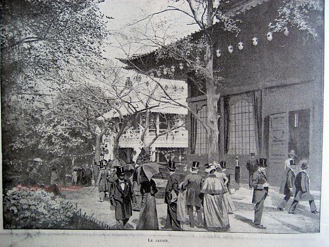 1900年 パリ万博 日本館 : 近代輸出陶磁器に魅せられて