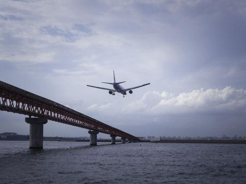 20150816羽田沖飛行機-8160279