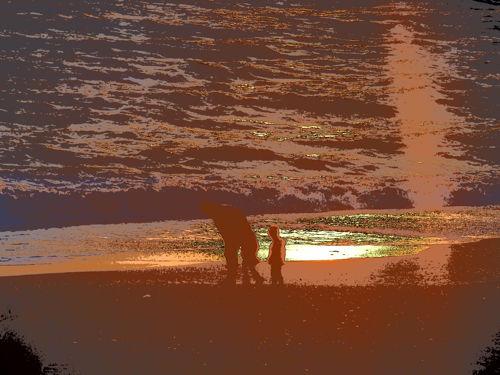 20141231茅ヶ崎夕陽Art-6-1