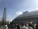 11/10 東京ドームとジェットコースター