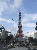 11/10 赤羽橋からの東京タワー