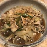 3/14 豚肉としらたきのすき焼き煮