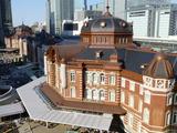 4/28 東京駅を見下ろす